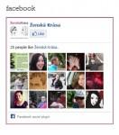 Vložení Facebooku